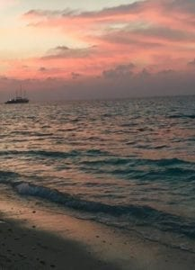 sunset Dhigurah Maldives Ari Atoll fernweh