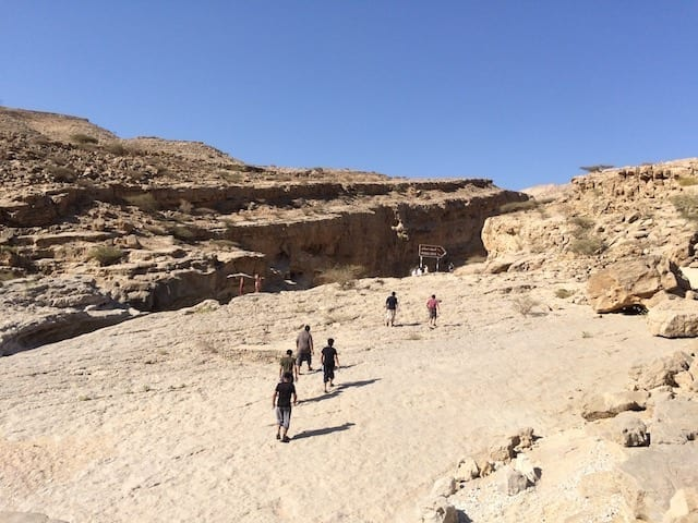 hike to muqal cave | Wadi Bani Khalid hiking