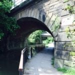 Arch bridge over footpath | Chesterfield Canal | Derbyshire | England