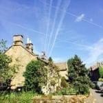 Street in Eyam | Plague village | Peak District | Derbyshire | England