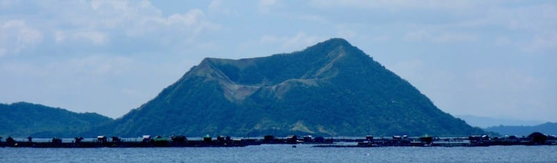 Taal volcano island | the Philippines