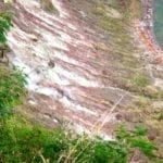 Sulphurous vapour venting out from the crater | Taal Volcano | Philippines