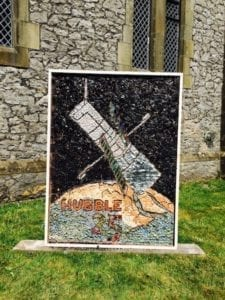 2015 Cressbrook Children's Well Dressing | St John's Church | Peak District National Park | Derbyshire well dressings
