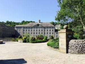 Cressbrook Mill | Peak District National Park | England | Monsal Dale hiking trail