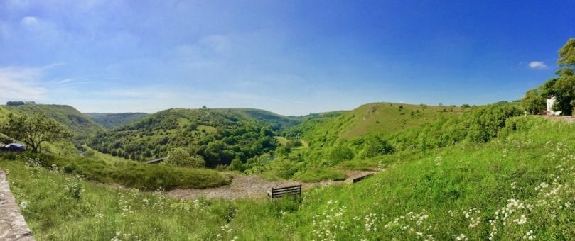 Monsal Dale view | Monsal Head | Peak District National Park | England