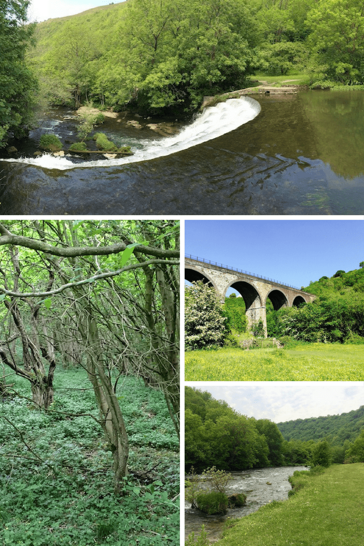 Weir on River Wye | Monsal Dale | Headstone Viaduct | River Wye | Peak District National Park