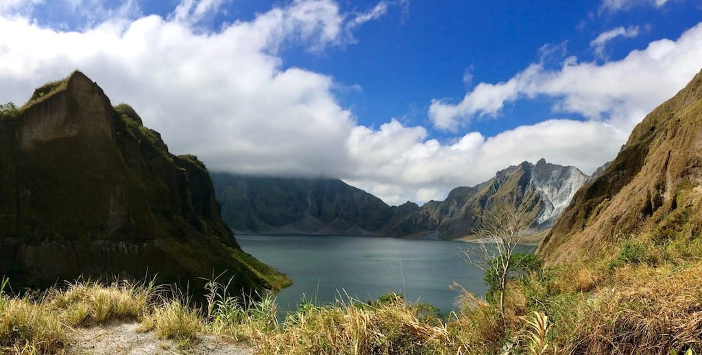 Pinatubo crater lake | Mount Pinatubo caldera | Philippines