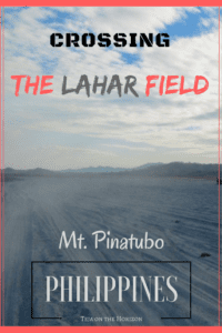Mount Pinatubo lahar field | Pinatubo lahar plain | Crossing lahar plain by jeep | Hiking to Pinatubo crater lake