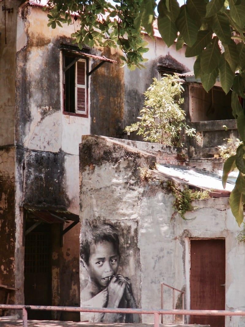 Poignant homegrown Penang street art | Penang spinoff local street art | Penang UNESCO Heritage City | Pulau Pinang | Malaysia