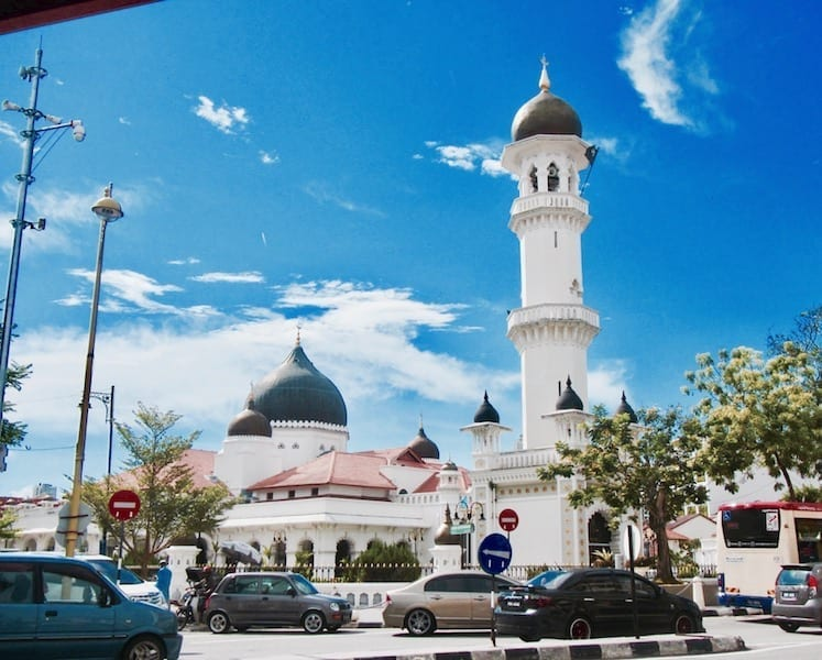 Kapitan Keling mosque | Penang Indian Muslim history | Penang UNESCO Heritage Area | Malaysia | Pulau Pinang