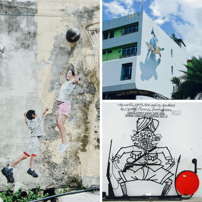 Penang street art | Ernest Zacharevic | Penang cartoon wire sculptures | Penang history | Penang UNESCO Heritage City | Pulau Pinang