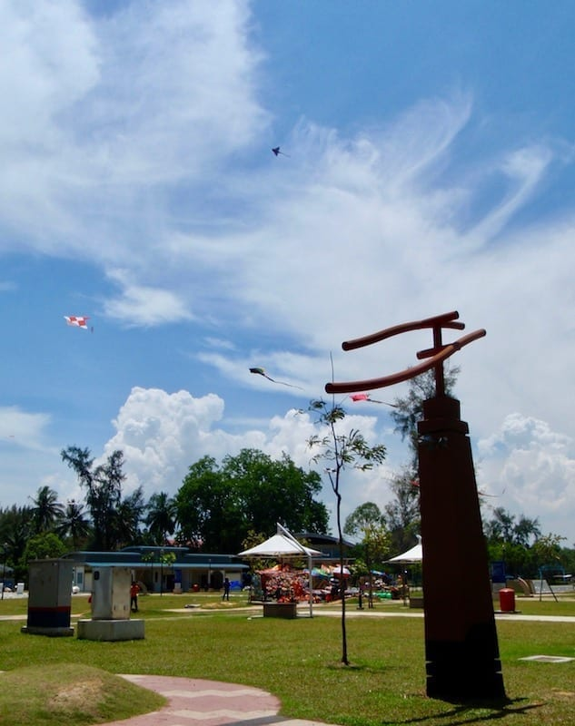 Kites in the wind at Morib beach | Banting tourism | Selangor, Malaysia | KL day trip