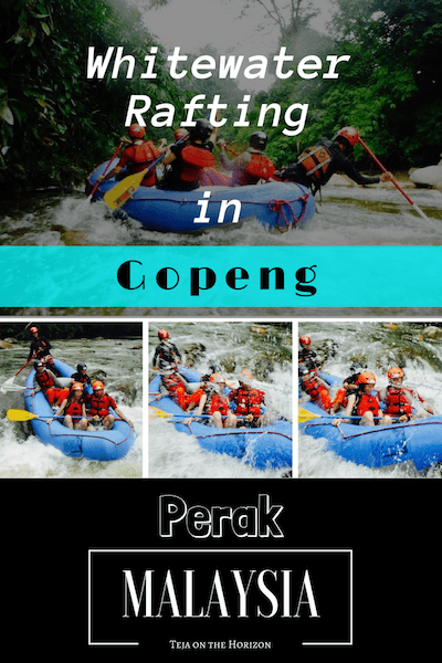 Whitewater rafting | canoeing | Gopeng, Perak | Outdoor adventure Malaysia | Teja on the Horizon