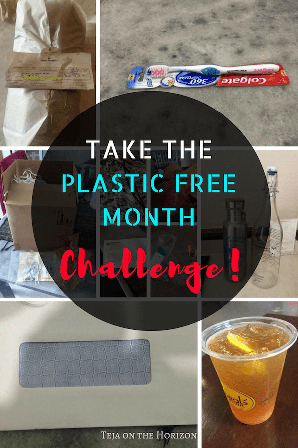 plastic free april challenge | zero waste challenge | no plastic July | zero waste | Teja on the Horizon