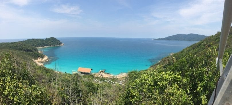 Perhentian Islands beach | Pulau Perhentian Kecil | Perhentian wind turbines | Perhentian islands hiking | Perhentian Islands backpacking | Perhentian Islands getaway | Perhentian Islands volunteering | Terengganu tourism | Malaysia holiday