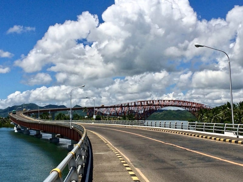 Samar to Leyte bridge | San Juanico bridge | Tacloban attraction | Leyte architecture | Philippine engineering