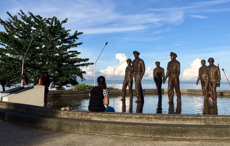 National Park | General MacArthur | Philippine liberation | WW2 | World War Two monument | World War 2 memorial | Philippine history | Tacloban Leyte