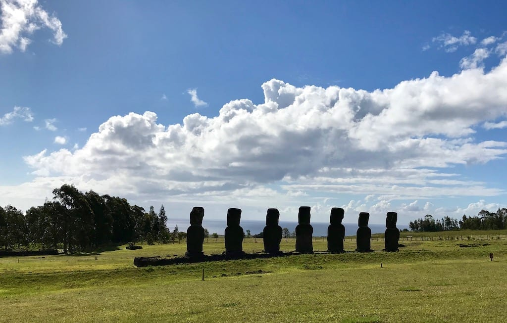 Solo Travel is Never Really Solo | A Birthday Epiphany | Teja on the Horizon | solo travel | growth | family | roots | traveller | parents | Easter Island | Rapa Nui | Isla de Pascua | moai | Ahu Akivi