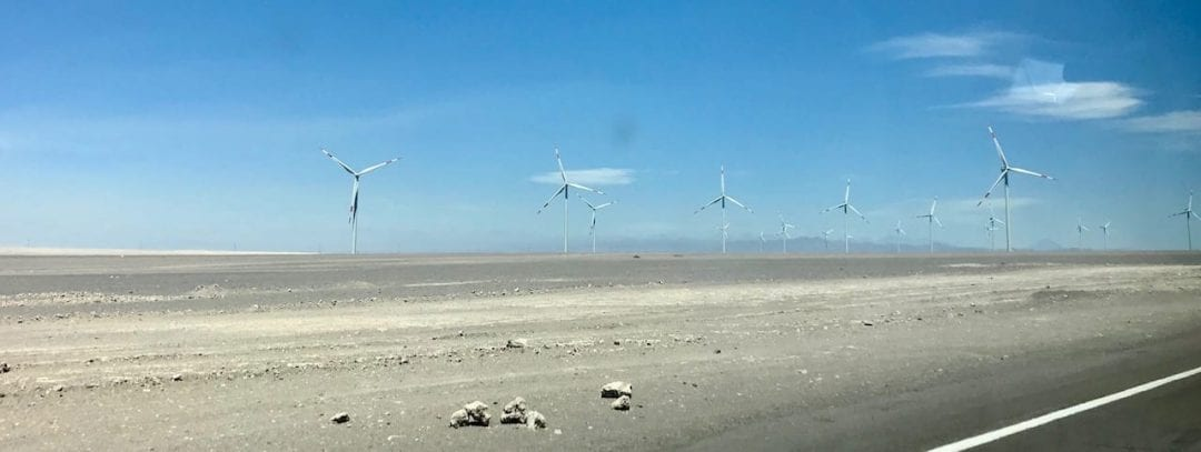 Solo Travel is Never Really Solo | A Birthday Epiphany | Teja on the Horizon | solo travel | growth | family | roots | traveller | parents | alternative energy | wind power | wind turbines | Atacama desert | Chile
