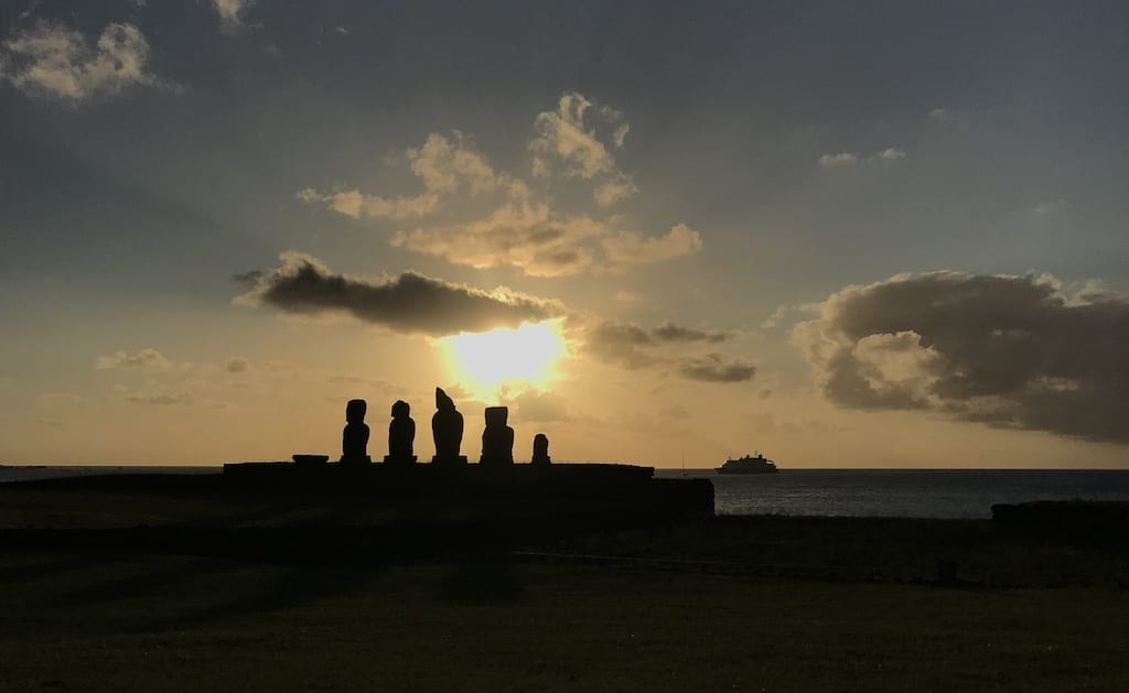 Solo Travel is Never Really Solo | A Birthday Epiphany | Teja on the Horizon | solo travel | growth | family | roots | traveller | parents | Easter Island | Rapa Nui | Isla de Pascua | moai | Ahu Tahai