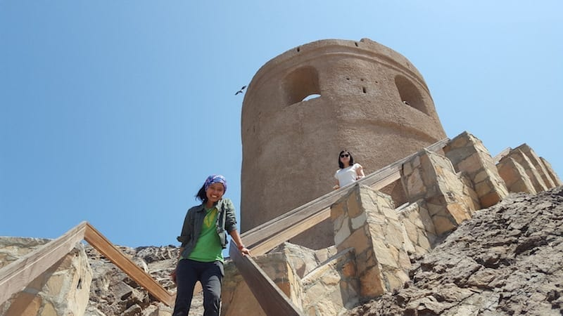 lighthouse Muscat | old watchtower | old Muscat | Muscat tour | Oman tourism
