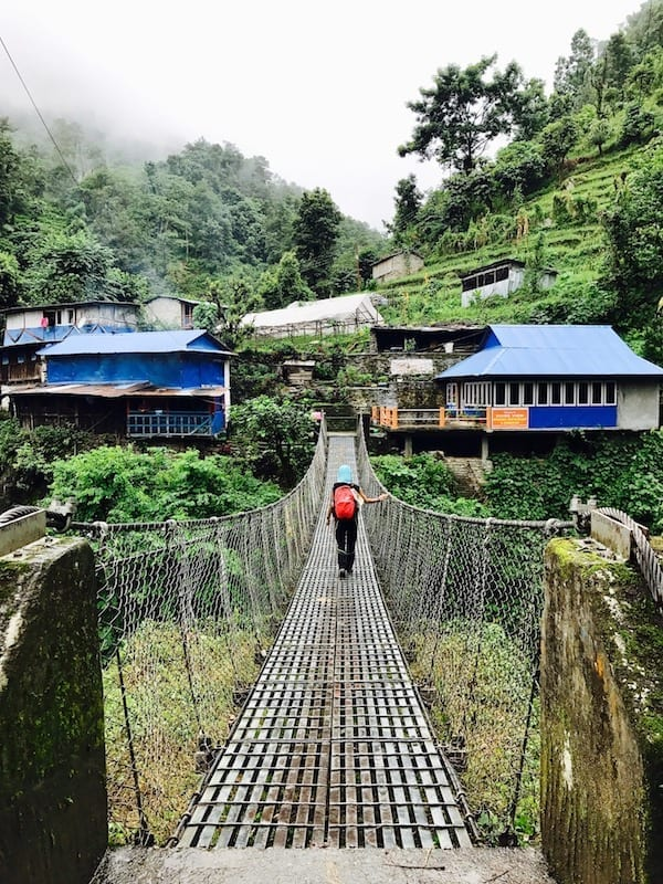 Heaven is not what I did yesterday | trying new things | belief that I could | growth from travel | Annapurna Sanctuary trek | Nepal trekking