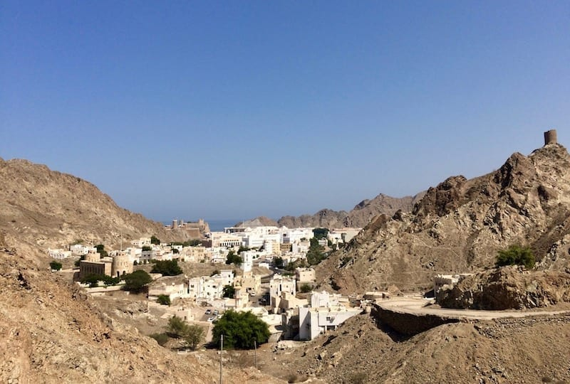 Muscat, Oman | Arabian architecture | capital city of Oman | old Muscat | Muscat tour | Oman tourism | Teja on the Horizon blog