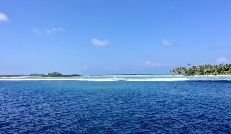 Coral lagoon in the Maldives | island lagoon Maldives | Dhigurah South Ari | Teja on the Horizon