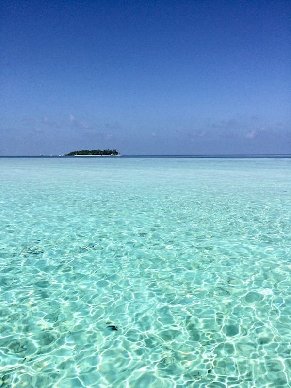 Lagoon in Dhiffushi | Maldives archipelago | sustainability | sustainable mindset | Teja on the Horizon