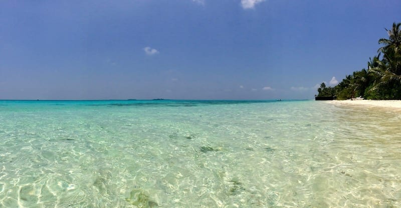 Maldives beach | turquoise sea | Dhigurah coast | South Ari | Maldives local island | Teja on the Horizon