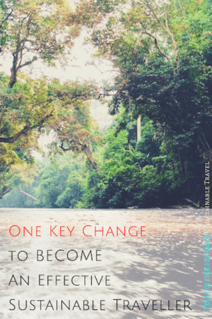 One Key Change to Sustain the Sustainable Journey | Teja on the Horizon blog | sustainability | responsible travel | sustainable traveller | environmentalism | inspiration