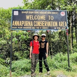 Annapurna in the Monsoon Day 1: An Expedition of Three Sisters | ABC trekking in monsoon | Annapurna Circuit in the off season | 3 Sisters Trekking | Nepal hiking | women trekking | Asian female trekking | female trekking porter