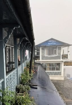 Pizza place in Chomrong | Annapurna in the Monsoon Day 5: Entering the Sanctuary | Chomrong village | Annapurna Base Camp trekking | hiking in Nepal | Asian female trekking | Malaysian in Nepal | Teja on the Horizon