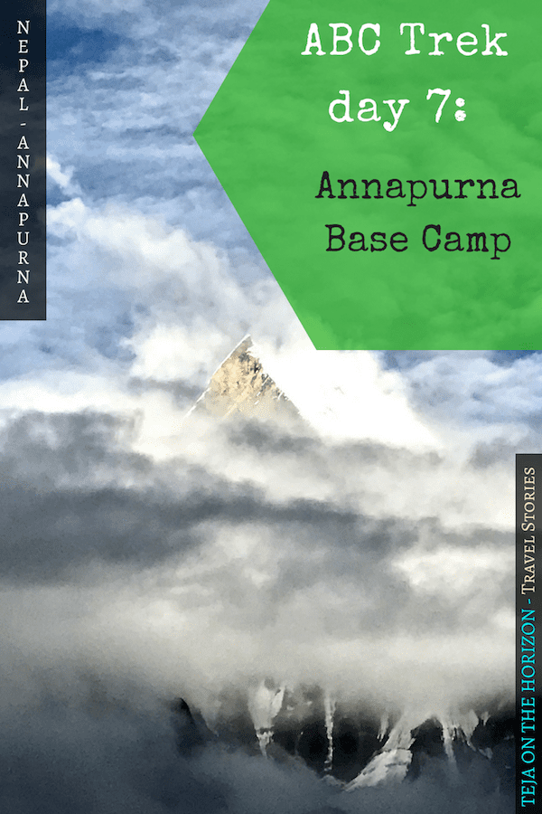 Annapurna in the Monsoon Day 7: To the Base Camp on a Trail of Flowers | Annapurna Base Camp trek | Annapurna Sanctuary trek | Machapuchare base camp | monsoon flowers in Nepal highlands | alpine summer flowers | Asian female trekking | Teja on the Horizon