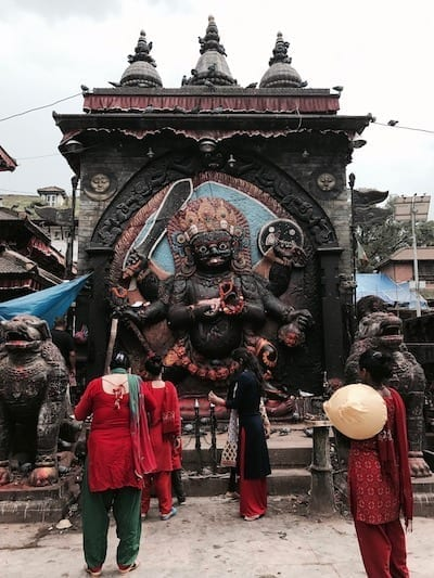 Shiva image as the arbiter of disputes | Hinduism in Nepal | A Kumari Contemplates Kathmandu Durbar Square