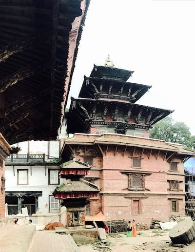 Jagannath temple from Degutalle tantric temple | Hinduism in Nepal | A Kumari Contemplates Kathmandu Durbar Square