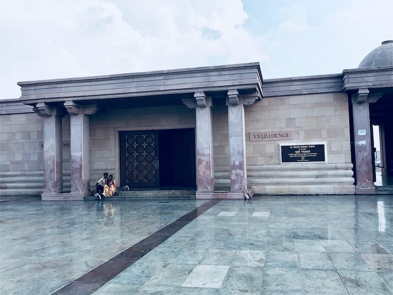 VVIP room at entrance of Ambedkar Park in Lucknow, India