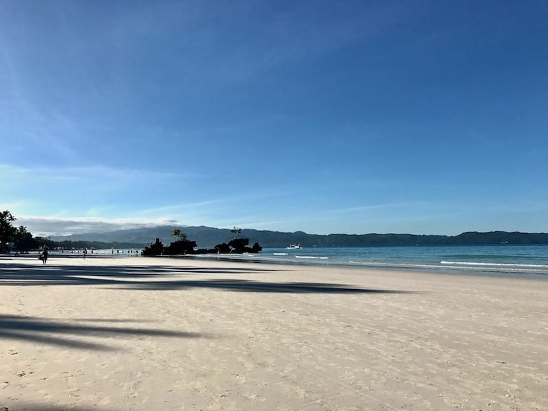A sunny day in Boracay even during the rainy season | Is Boracay worth going in the rainy season?