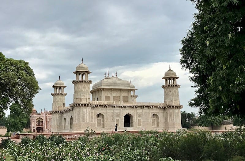 A view of the Baby Taj from the garden | Mughal monument of Agra, India