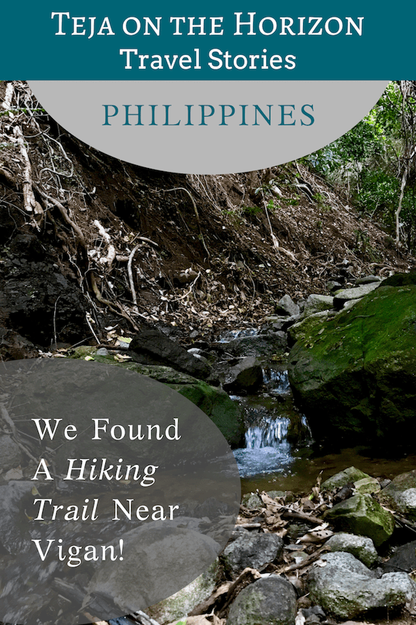 'We Randomly Found a Hiking Trail Near Vigan!' | Travel story on Teja on the Horizon sustainable travel blog | Northern Luzon Heroes Hill National Park | hiking trail in Ilocos Sur | jungle hike near Santa