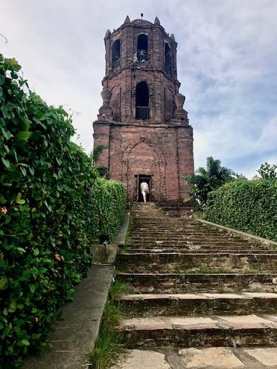 Heading into Bantay Belfry and watchtower | Vigan things to do